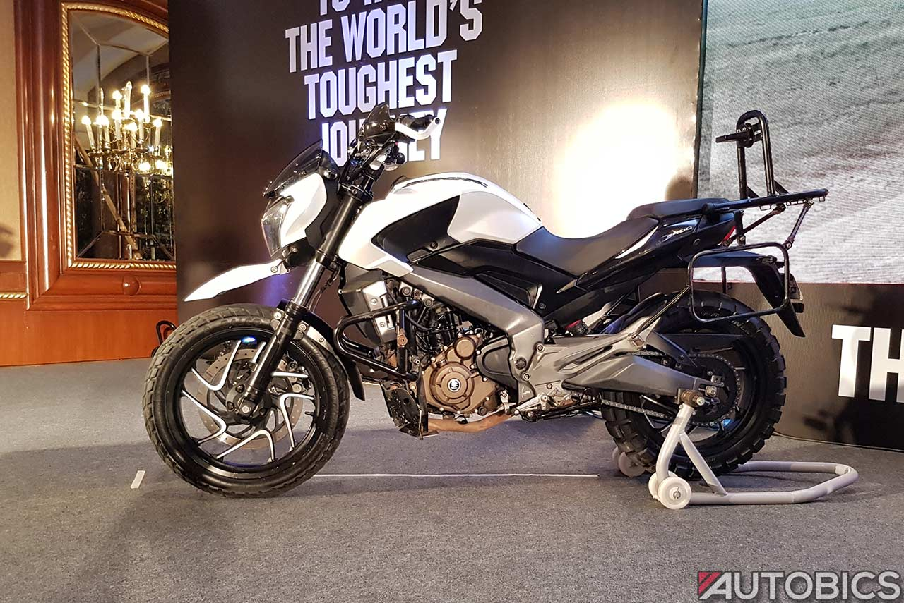 Bajaj Dominar 400 Modified For Trans Siberian Odyssey