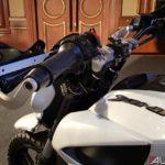 bajaj dominar 400 modified raised handle