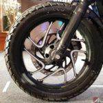 bajaj dominar 400 modified ralco knobby offroad tire