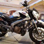 bajaj dominar 400 modified right