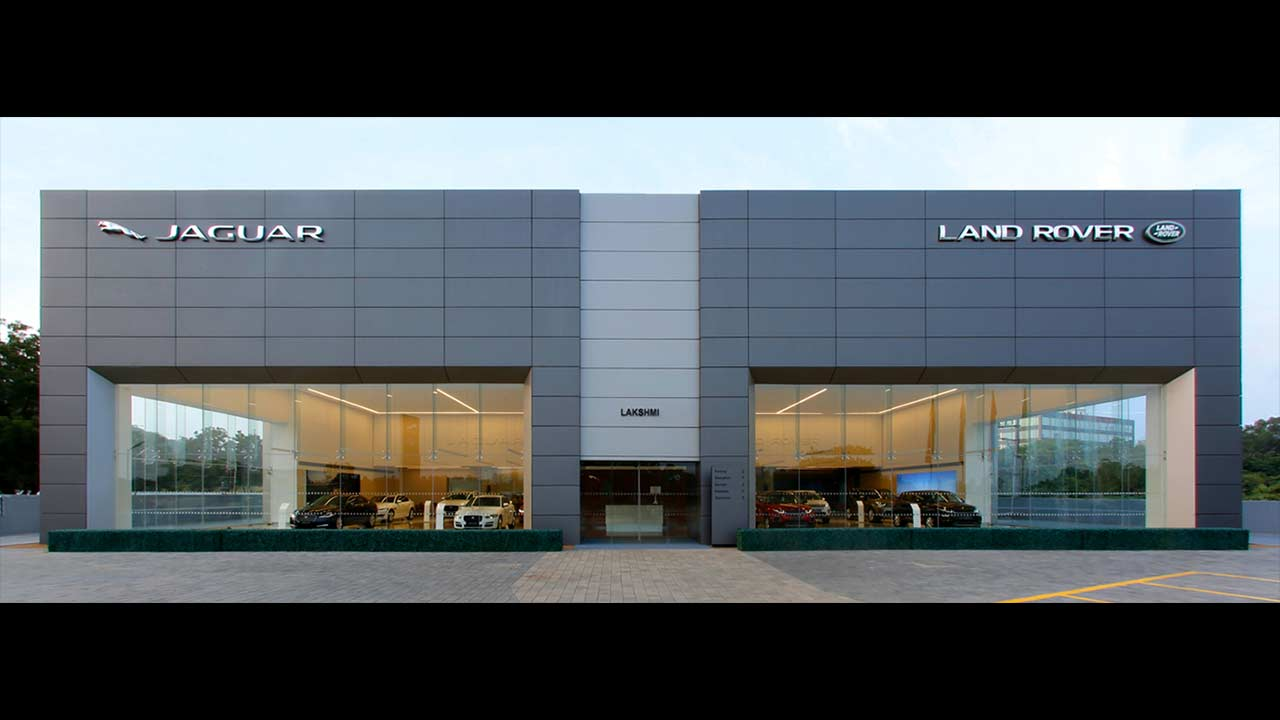 Jaguar Land Rover Showroom Vijayawada Autobics