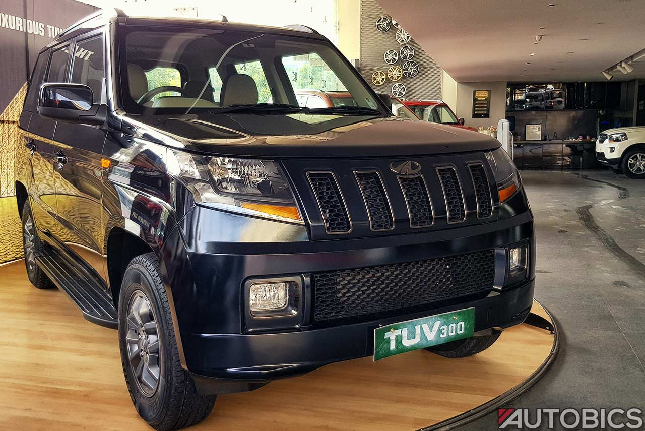 Mahindra Tuv300 T10 2017 Video And Images Autobics