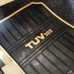 mahindra tuv 300 t10 interior floor mat 2017