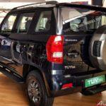 mahindra tuv300 t10 bold black rear left 2017