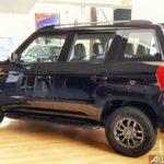 mahindra tuv300 t10 bold black rear quarter 2017