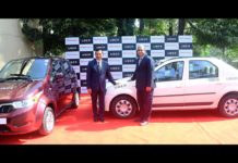 mahindra and with uber e2o plus and e-verto electric vehicles