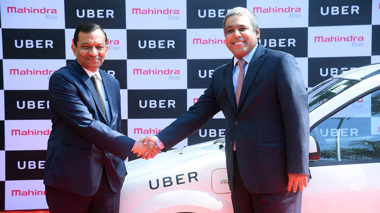 mahindra and uber partnership dr pawan goenka and madhu kannan