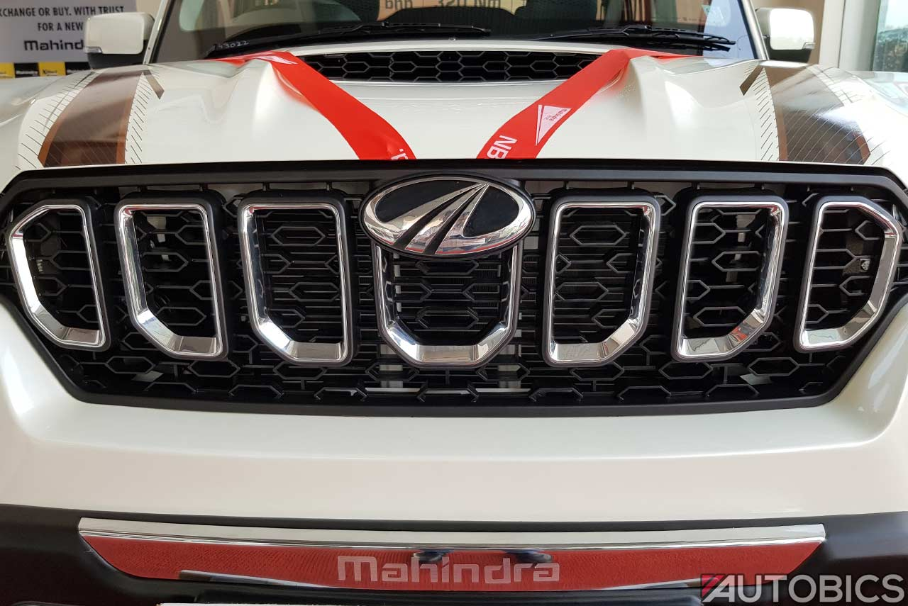 New Mahindra Scorpio Images And Video The Most
