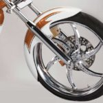 rudra avantura choppers front wheel
