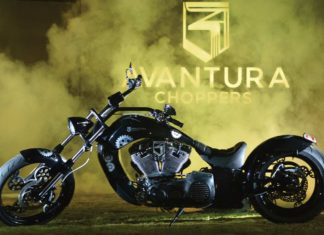 rudra avantura choppers motorcycle