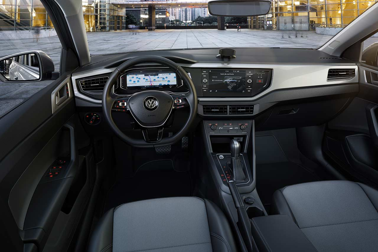 vw virtus 2018 interior