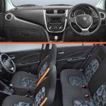 2017 Maruti CelerioX Interior Seats