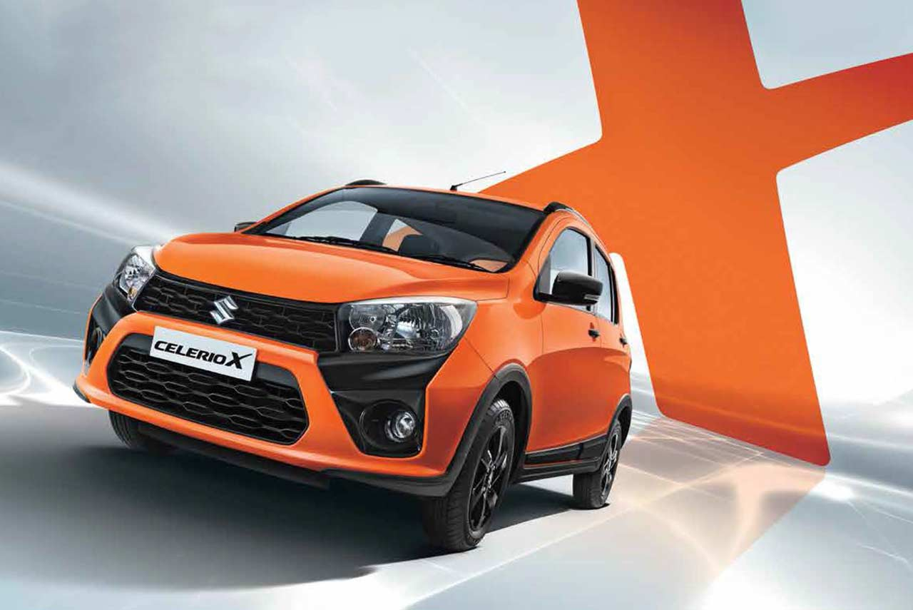 All Car Company >> Maruti Suzuki CelerioX launched in India - AUTOBICS