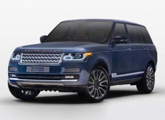 2017 Range Rover Autobiography by SVO Bespoke Satin Petrol Blue