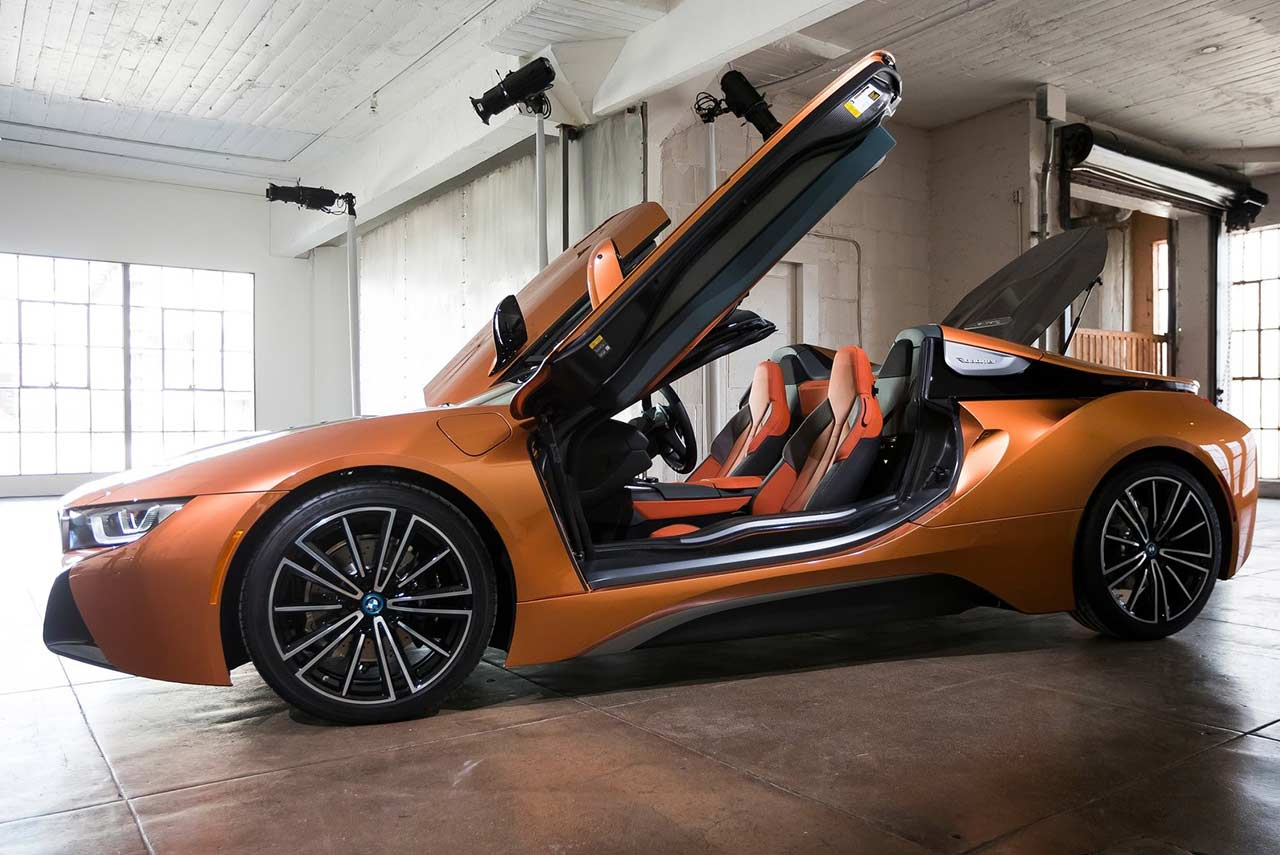 2018 Bmw I8 Roadster Door Open Autobics