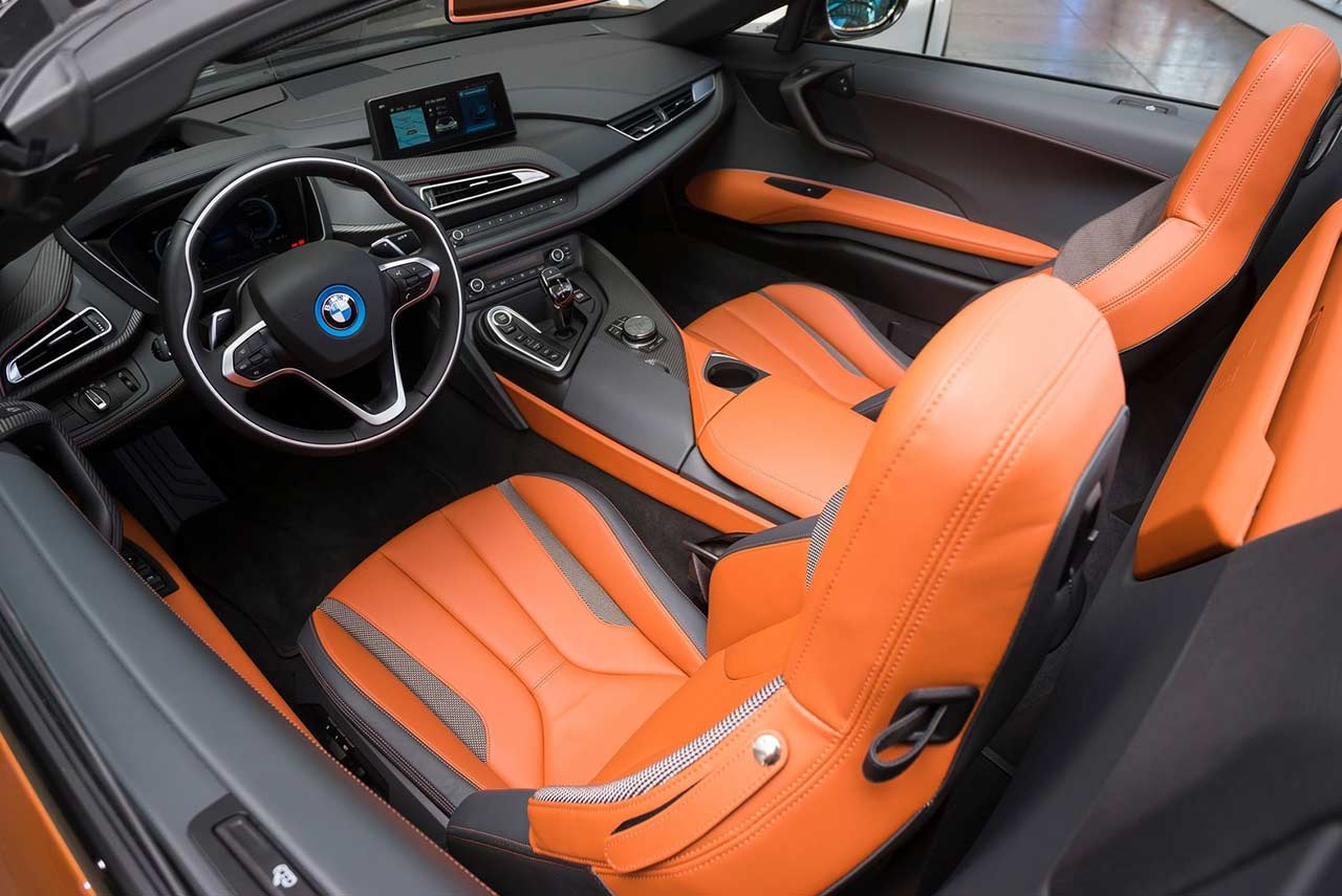 Mercedes E Coupe 2019 >> 2018 BMW i8 Roadster Interior | AUTOBICS