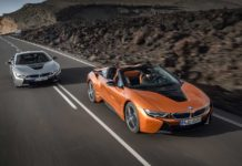 2018 BMW i8 Roadster and Coupe