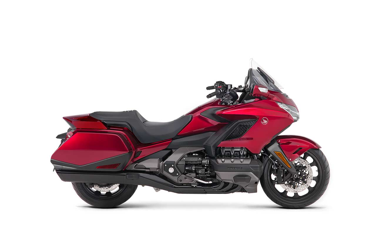 2018 Honda Goldwing Candy Ardent Red