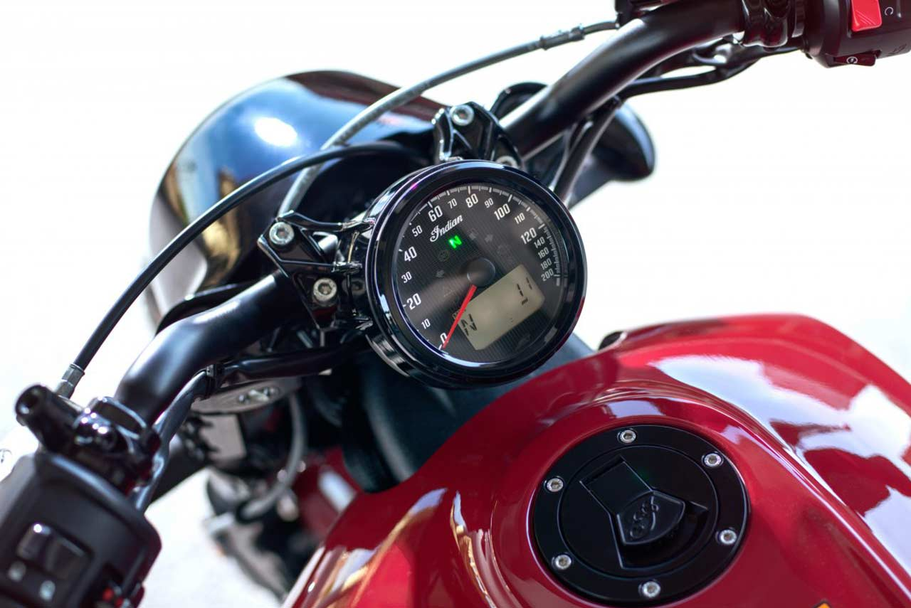 2018 Indian Scout Bobber Speedometer Autobics