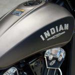 2018 Indian Scout Bobber Tank Logo