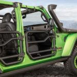 2018 Jeep Wrangler Mopar Tube Doors Mojito Green