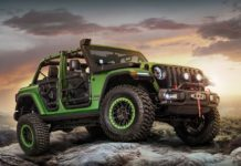 2018 Jeep Wrangler Rubicon Mopar Jeep Performance Parts