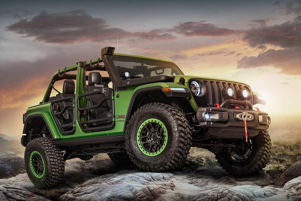 Jeep Performance Parts >> 2018 Jeep Wrangler Rubicon Mopar And Jeep Performance Parts