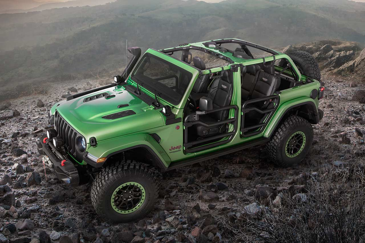 2018 Jeep Wrangler Rubicon Mopar Parts Mojito Green