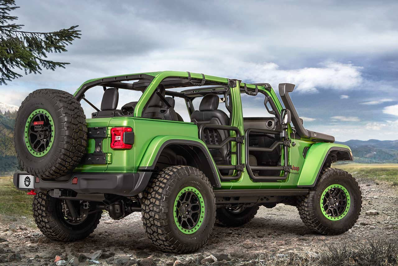 2018 Jeep Wrangler Rubicon Mopar And Jeep Performance