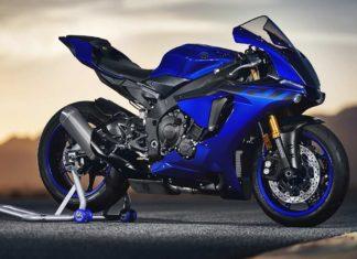 2018 Yamaha R1 Blue