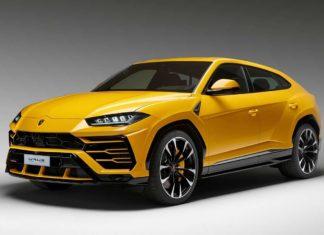 2019 Lamborghini Urus Front Quarter