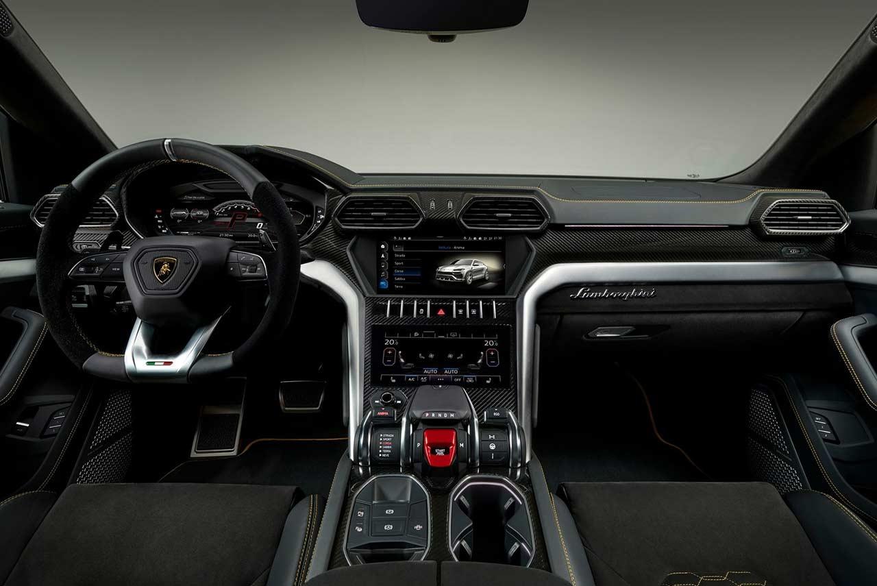 2019 Lamborghini Urus Interior Black Autobics