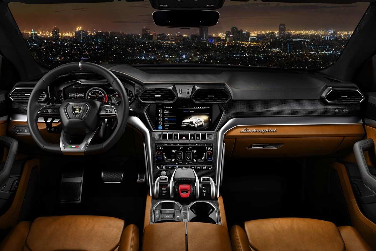 2019 Lamborghini Urus Interior Tan Autobics
