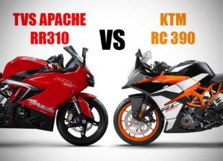 Apache RR 310 vs RC 390