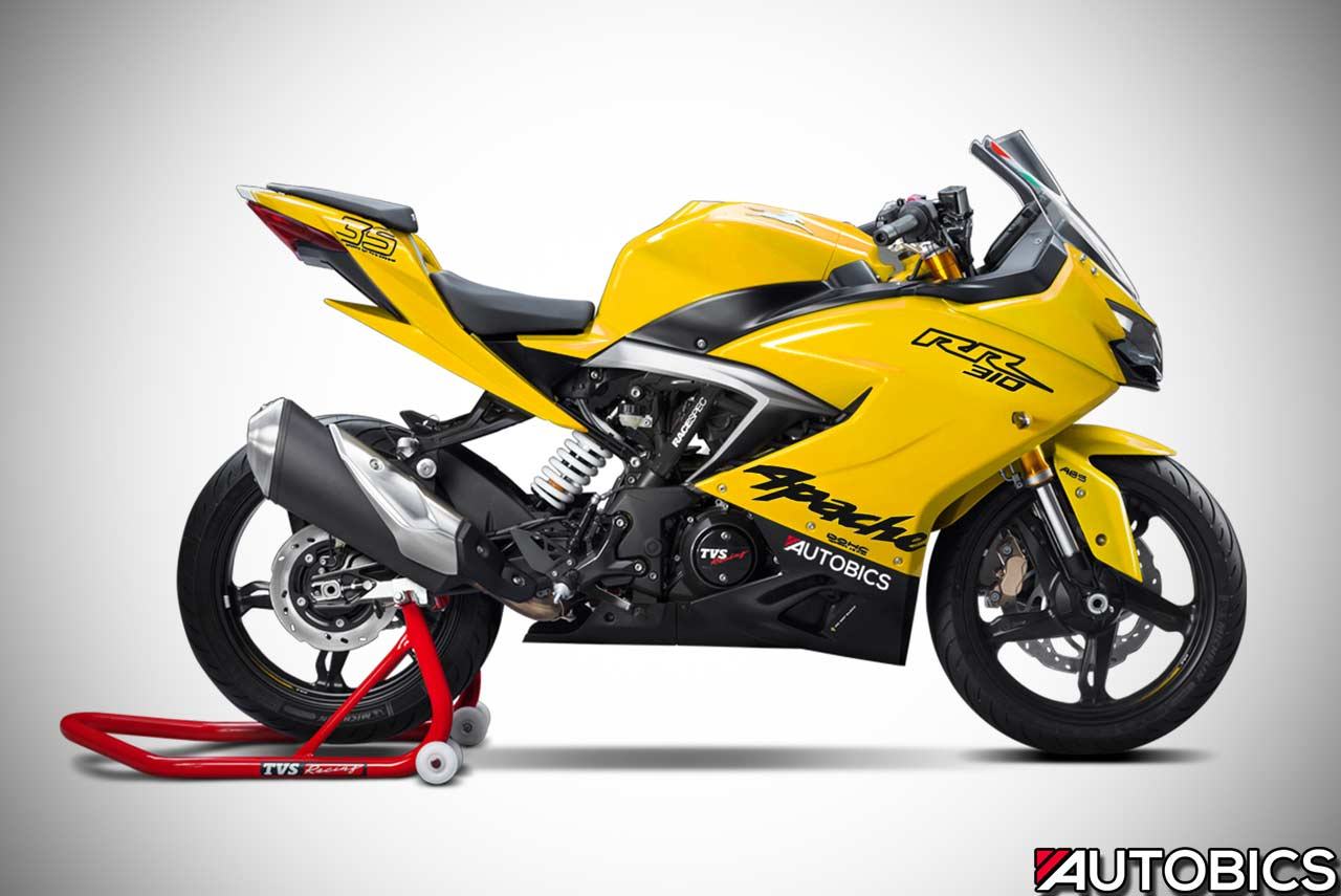 TVS Apache RR310 Imagined in Various Colours - AUTOBICS