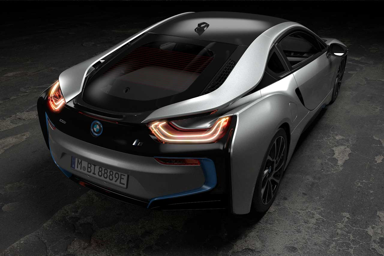 Bmw I8 Coupe 2018 Rear Right Quarter Autobics