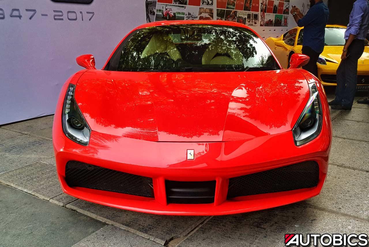 Supercars Gallery Ferrari 488 Gtb Front