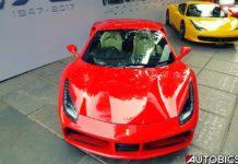 Ferrari 70 Anniversary at Ferrari Mumbai Showrrom