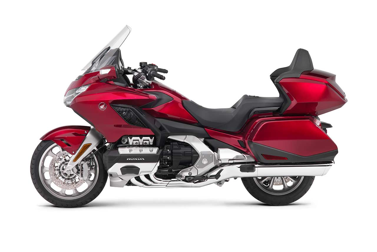 Honda Goldwing Tour 2018 Candy Ardent Red Left Side