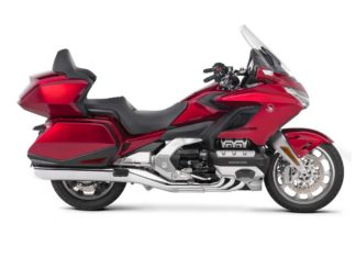Honda Goldwing Tour 2018 Candy Ardent Red Right Side
