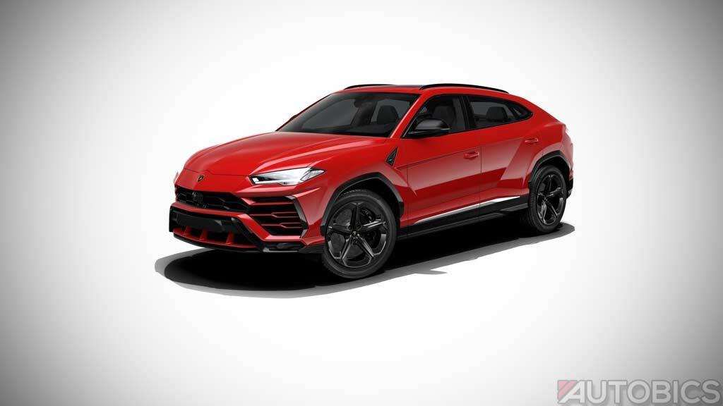 Lamborghini Urus Rosso Mars 2019 Autobics