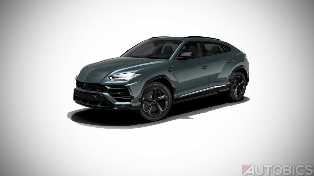 New Honda Civic Colors >> Lamborghini Urus Verde Hebe 2019 | AUTOBICS