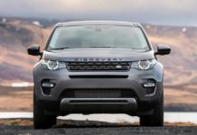 Land Rover Discovery Sport Front 2018