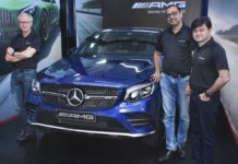 Mercedes AMG Pit Stop Pune Launched