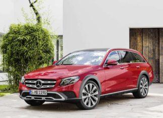 Mercedes-Benz E-Class All-Terrain 2017 Front Quarter