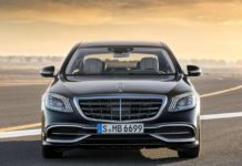 Mercedes-Benz S-Class Maybach 2018 Front