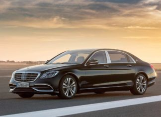 Mercedes-Benz S-Class Maybach 2018 Front Left