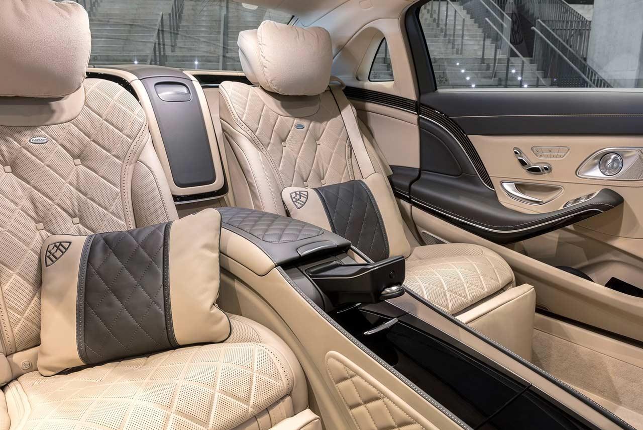 Mercedes-Maybach S650 2018 Rear seats