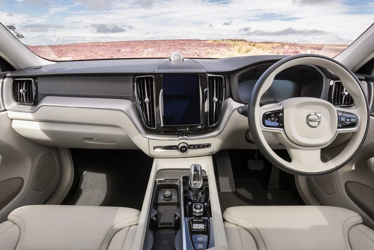 New XC60 Interior Dashboard 2018 | AUTOBICS