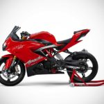 TVS Apache RR 310 Racing Red 2018 Left Side
